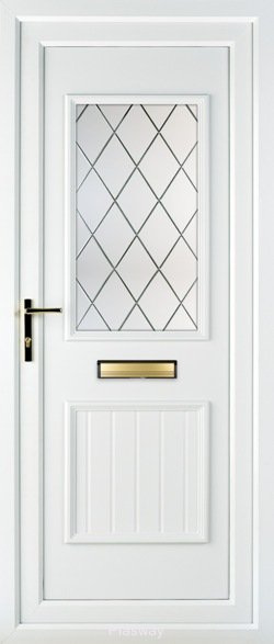 Upvc Doors Supply Only Front And Back Doors Diamond Shield
