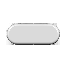 Round Nose Fascia End Cap (Double)