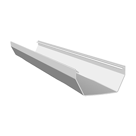 Freeflow Square Gutter 4 metre
