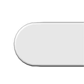Plain/Magnum Sq. Fascia Large End