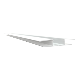 Flexible H trim Joint Trim White